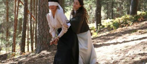 Una Vita, anticipazioni spagnole: Olga rapisce Blanca, Samuel in ansia.