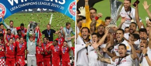 Bayern de Munique e Sevilla decidem o título da Supercopa da Europa. (Arquivo Blasting News)