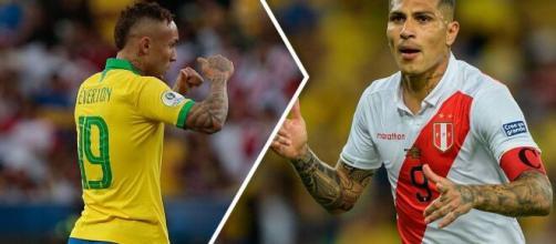 Éverton Cebolinha e Guerrero foram os artilheiros da Copa América 2019. (Arquivo Blasting News)