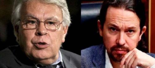 Felipe González y Pablo Iglesias: dos polos opuestos en la política