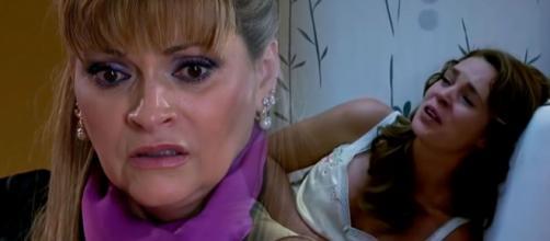 Josefina nega socorro a própria filha. (Divulgação/Televisa)