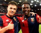 Kouamé prima di andare alla Fiorentina ha giocato nel Genoa dal 2018 al 2020.