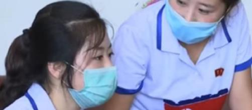 North Korea imposes strict coronavirus measures. [Image source/AP Archives YouTube video]