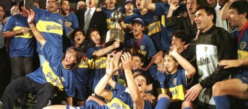 O Boca Jrs. venceu seu tricampeonato da Libertadores em 2000. (Arquivo Blasting NEws)