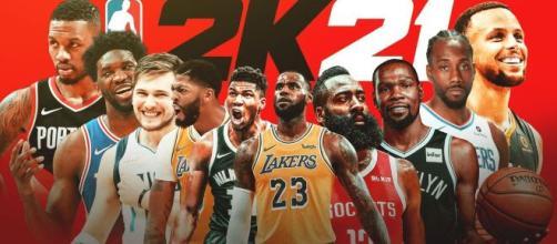 O NBA 2K21 tem jogadores consagrados no ranking. (Arquivo Blasting News)