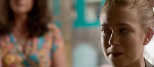 Eliza ficará em choque ao ser humilhada pela ex-sogra em 'Totalmente Demais'. (Reprodução/ TV Globo)