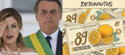 Banda de rock Detonautas lança música que desagradou Michelle Bolsonaro. Arquivo Blasting News)