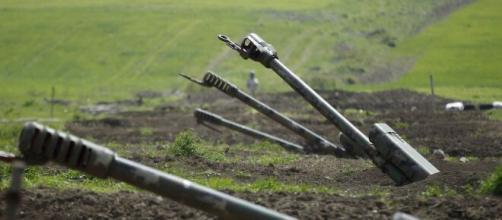 Conflito armado em Nagorno-Karabakh. (Arquivo Blasting News)