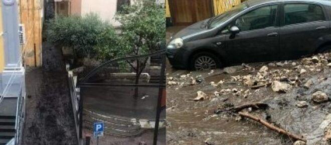 Maltempo, paura a Sarno: fango e detriti nelle case, evacuato il centro storico