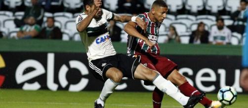 Coritiba e Fluminense não se enfrentam desde 2017 pelo Campeonato Brasileiro. (Arquivo Blasting News)