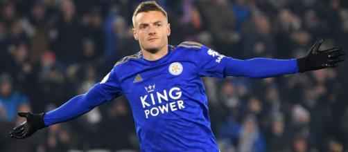 Jamie Vardy atualmente joga no Leicester. (Arquivo Blasting News)