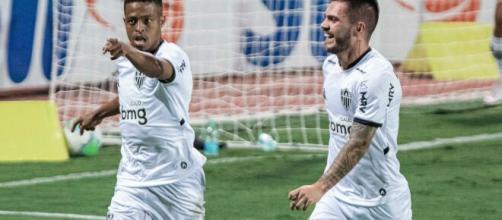 Keno foi o 8º jogador a marcar 3 gols em 2 jogos consecutivos na história do Brasileirão. (Arquivo Blasting News)