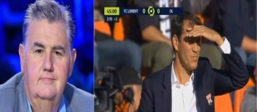 Pierre Ménès détruit Rudi Garcia et le jeu de l'OL, Twitter s'enflamme
