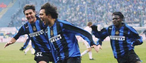 Recoba e il goal all'ultimo secondo in Inter Sampdoria 3-2