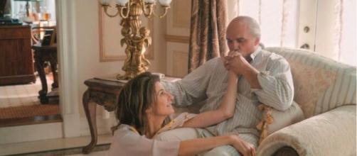 Un hommage particulier sera rendu à René Angélil dans le film, source : capture Youtube @Gaumont