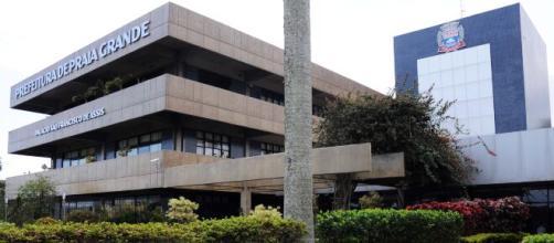 Vista do Palácio São Francisco de Assis, sede do prefeito de Praia Grande. (Arquivo Blasting News)