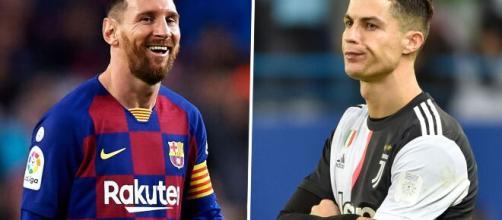 Disputa entre Cristiano Ronaldo e Messi segue acirrada. (Arquivo Blasting News)