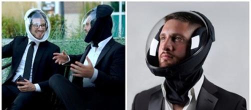 Un nouveau casque pourrait remplacer les masques en tissus - Photo catpure d'écran Facebook