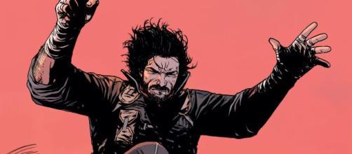 Arte do Personagem Berzerker, criação de Keanu Reeves. (Arquivo Blasting News)