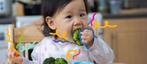 Crianças de até 2 anos devem ter alimentação a base de vegetais e frutas. (Arquivo Blasting News)