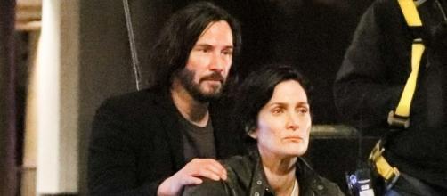 Keanu Reeves y Carrie-Anne Moss confirmados en Matrix 4