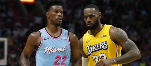 Los Angeles Lakers e Miami Heat duelam na busca do titulo da NBA. (Arquivo Blasting News)