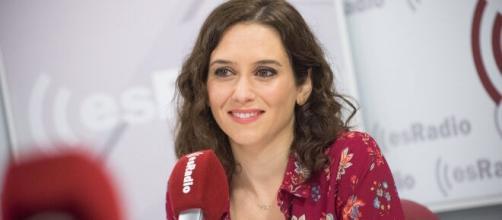 Isabel Díaz Ayuso alude a que los niños se pueden infectar con el coronavirus