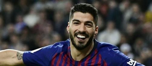Luis Suarez, punta del Barcellona.