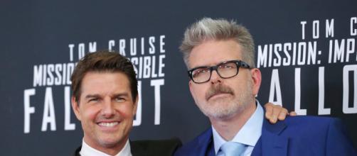 Tom Cruise e Christopher McQuarrie: parceria de sucesso na franquia 'Missão Impossível'. (Arquivo Blasting News)