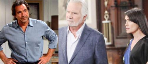 Beautiful trame Usa: Ridge mette in guardia Eric su Quinn, Liam diviso tra Steffy e Hope.