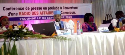 Conférence de presse de lancement de la radio Mekit fm (99.5 MGHZ) à Yaoundé (c) Odile Pahai