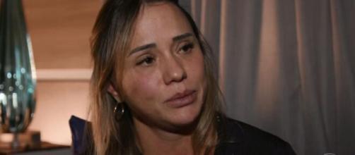 Mãe da adolescente Isabele Guimarães. (Reprodução/TV Globo)