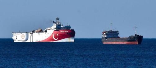 Nave oceanografica turca nel Mediterraneo orientale alla ricerca di gas.
