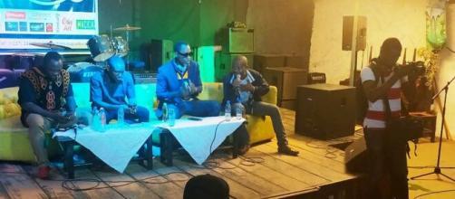 Rencontre entre le MACICA, la SONACAM et les acteurs des musiques urbaines, le 03 septembre 2020 (c) Odile Pahai