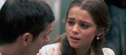 Spoiler Il segreto: Pablo e Carolina costretti a lasciarsi.