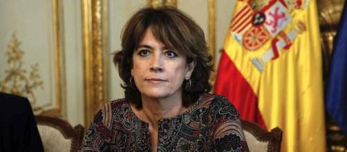 La Fiscal General del Estado, Dolores Delgado