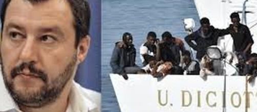 Salvini commenta arresto banda di trafficanti di migranti.
