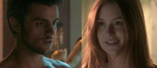 A ruivinha surpreenderá o ex-amado em 'Totalmente Demais'. (Reprodução/TV Globo)