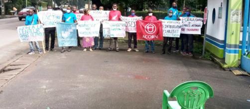 Grève organisée par l'association 'on Est Ensemble' ce 09 septembre 2020 (c) On Est Ensemble