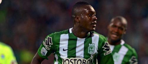 Jovem destaque no Atlético Nacional, Marlos Moreno não repetiu o mesmo sucesso fora da Colômbia. (Arquivo Blasting News)