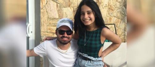 Kamily, filha de Fernando Zor, tem 18 anos. (Reprodução/Instagram)