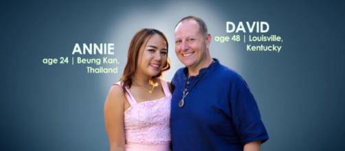 '90 Day Fiancé': David hinted he will soon appear on new pillow talk. © TLC UK/ YouTube Screenshot