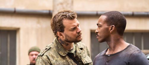 Cena do filme 'Zona de Combate', novo filme da Netflix. (Arquivo Blasting News)