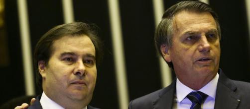 Maia critica governo de Bolsonaro por não pagar banco do Brics. (Arquivo Blasting News)