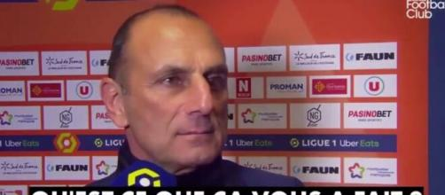 Der Zakarian n'a pas mâché ses mots au moment de parler de Raymond Domenech.