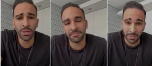 Les confessions d'Adil Rami - Photos captures d'écran vidéo Daylimotion