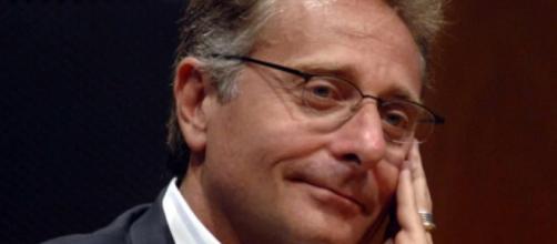 Paolo Bonolis, presentatore televisivo e tifoso dell'Inter.