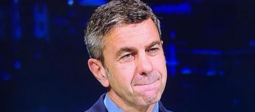 Alessandro Costacurta, commentatore televisivo a Sky Sport.