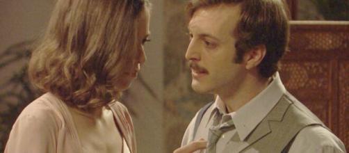 Il Segreto, trame Spagna: Ramon accusa Marta di averlo sposato con l'inganno.
