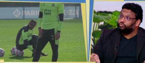 Les révélations du clash entre Payet et son entraineur André Villas Boas - ©capture d'écran vidéo Twitter